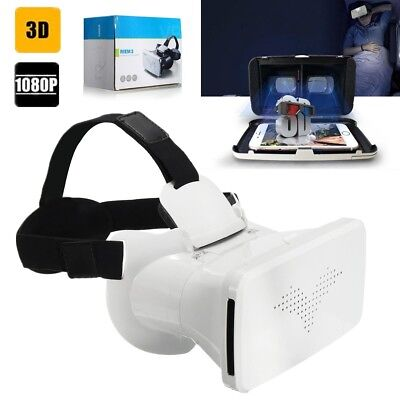 3D Brille VR Virtual Reality Video Glasses für Samsung Galaxy S7 edge iPhone S6