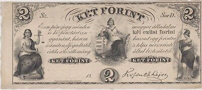 Hungary 2 forint 1852, Unc PS142, (263)