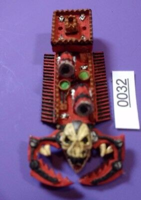 Khorne Bloodship - Chaos - Man O War - Warhammer - Metal - 1993 - Games Workshop