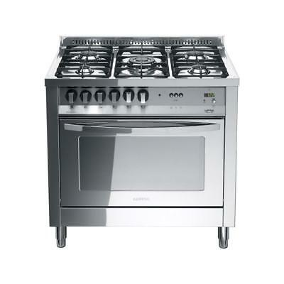 Lofra Cucina Combinata Rainbow Cookers PLG96GVT/C 90 cm Total Inox