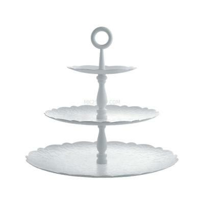Alessi Alzata Dressed for X-Mas MW52/3 W 35 cm Bianco