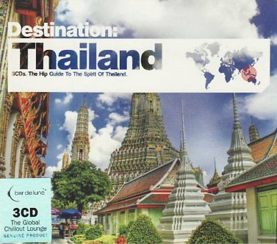 VARIOUS - DESTINATION THAILAND - VARIOUS CD 72VG The Cheap Fast Free Post The