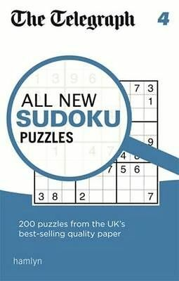 The Telegraph All New Sudoku Puzzles 4 (The Telegraph Puzzle Books) by THE TELEG