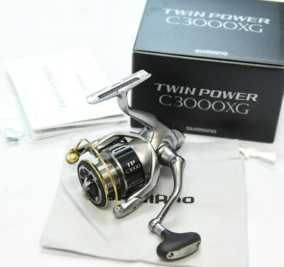 2015 NEW SHIMANO TWIN POWER C3000XG Spinning Reel  From Japan