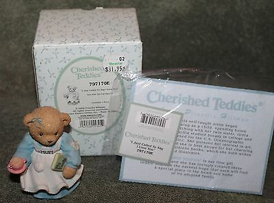 Cherished Teddies I Just Called To Say I Love Figurine # 797170E 2000 By Enesco