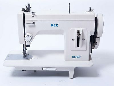 Rex Rx 607 Portable Upholstery Walking Foot Sewing Machine 299 99