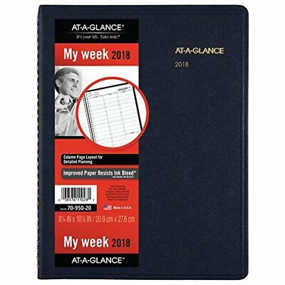 2018 Weekly Appointment Book Planner With Contact Info Phone Address Pages Navy