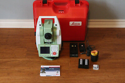 "Leica TS11 3"" R500 Reflectorless Survey Total Station - EXCELLENT CONDITION!"