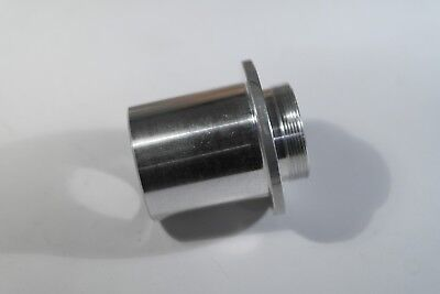 STAINLESS STEEL camera C mount to 30mm barrel M30 microscope adapter converter