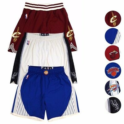 2015 NBA Adidas Authentic On-Court Team Issued Christmas Day Pro Cut Shorts  Men eacde5e15