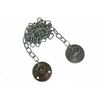 Metal Keeper Plate with Chain