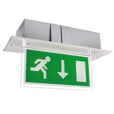Single-Sided 8W Fire Exit Sign Slave Unit - Calabor CAL8