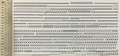 New Letterpress Type, 10pt. Bembo Italic (see description for special deal)*