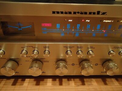 Marantz 2330b Vintage Stereo Receiver Needing Repair.  Super Nice Watch Video!