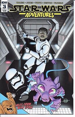 IDW Publishing STAR WARS ADVENTURES #3 first printing cover A