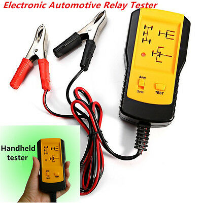 Universal Electronic Automotive Relay Tester 12V Car Auto Battery checker AE100