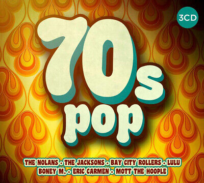 Various Artists : 70s Pop CD 3 discs (2017) Incredible Value and Free Shipping!