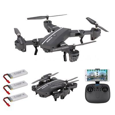Foldable Drone 8807W 720P Wide Angle Camera RC Quadcopter 2 Extra Batteries Z6P1
