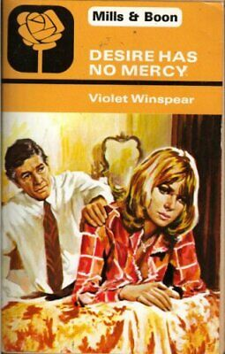 Desire Has No Mercy # 1496 by Winspear, Violet Book The Cheap Fast Free Post