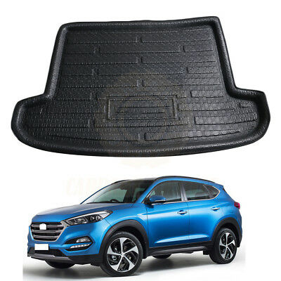 For 2016-2018 Hyundai Tucson Boot Cargo Floor Mat Liner Rear Trunk Tray Carpet