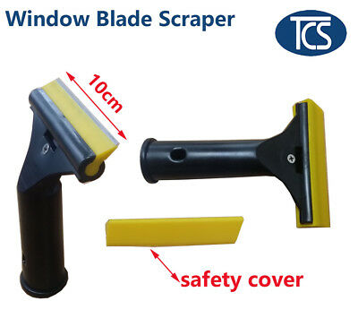 NEW 5/8/50 pcs 10cm Window Blade Scraper Glass Paint Residue Remover safety