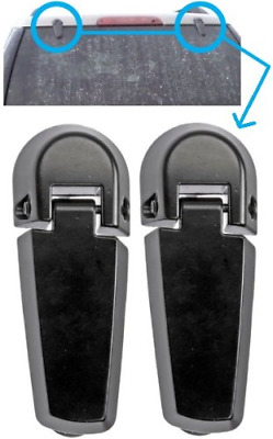 Rear window glass hinge stainless fit 2008 2012 ford for 2002 ford escape rear window hinge