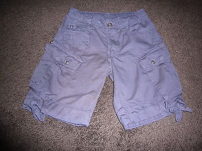 Perfect for a summer break - Navy cargo style shorts Size 7
