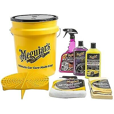 Meguiar's Winter Car Detailing / Wash n Wax / Hot Rims / Cleaning Bucket Kit