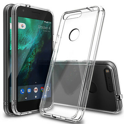 Google Pixel XL Case, Ringke [FUSION] Raised Bezel Shockproof Protective Cover