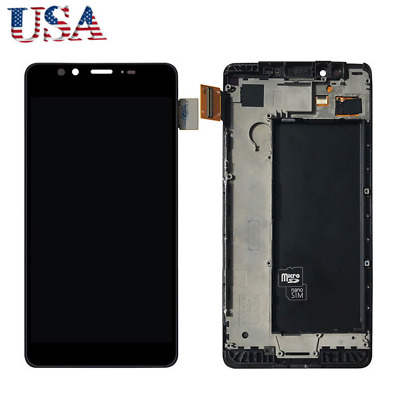 For Nokia Microsoft Lumia 950 LCD Display Touch Screen Digitizer Assembly +Frame