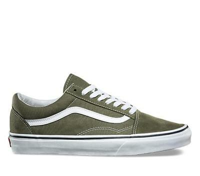 Vans Old Skool Men's Shoes - Winter Moss/True White