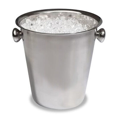 Stainless Steel Champagne Ice Bucket With Handles Premium Bucket Event