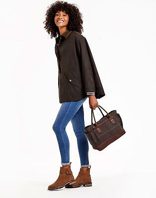 Joules Everyday Tweed Bag in Heather Check in One Size