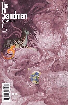 SANDMAN OVERTURE  5  ...NM- ...2015 ...Limited 1:100 Variant Cover!.....Bargain!