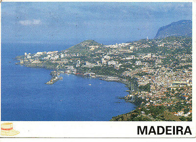 Portugal Madeira Picture Postcard Funchal Coastline Funchal View Archipelago