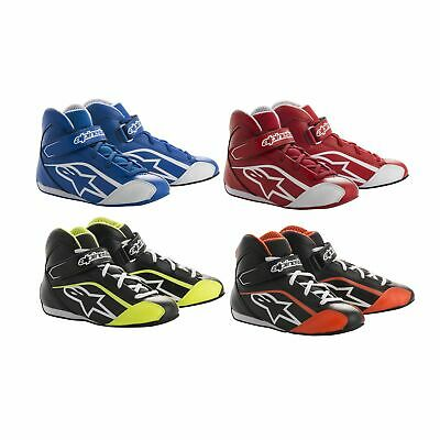 Alpinestars Tech 1-KS Kids Children's Go Kart Karting Race Racing Track Boots