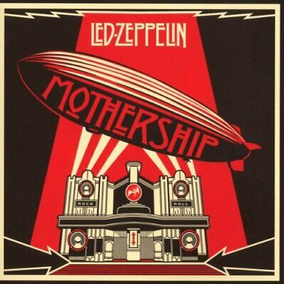 Mothership: The Very Best of Led Zeppelin - Led Zeppelin CD GAVG The Fast Free