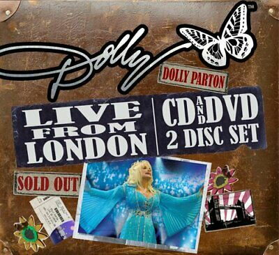Dolly Parton - Live  From  London - Dolly Parton CD LEVG The Fast Free Shipping