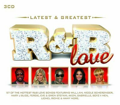 Various Artists - Latest & Greatest R&B Love - Various Artists CD 9MVG The Fast