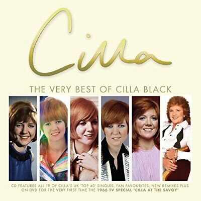 Cilla Black - The Very Best Of - Cilla Black CD 3QVG The Fast Free Shipping