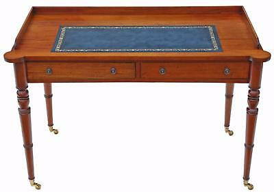 Antique quality reproduction Georgian mahogany desk or writing table