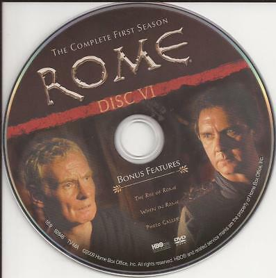 Rome (DVD) HBO First Season 1 Disc 6 Replacement Disc U.S. Issue Disc Only!