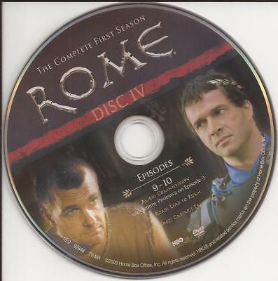 Rome (DVD) HBO First Season 1 Disc 4 (DVD) Replacement Disc U.S. Issue Disc Only