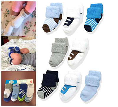 Newborn Baby Infant Winter Socks Lot Girl Boy Boys Sock Pack Pairs Free Shipping