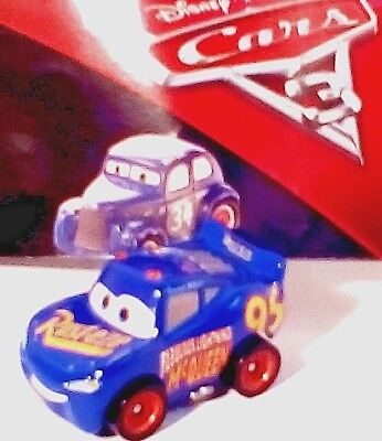 Disney Pixar CARS 3 MINI RACERS THE FABULOUS LIGHTNING McQUEEN