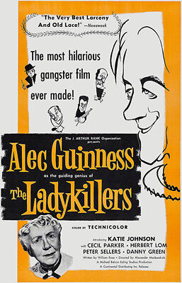 An Ealing Comedy Poster Framed or 3 Print Options NEW 2019 The Ladykillers