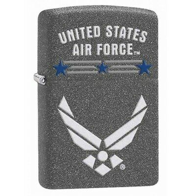 Zippo Official Licensed U.s Military Air Force Logo Lighter U.s.a Made