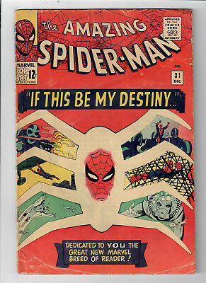 THE AMAZING SPIDER-MAN #31 - Grade 4.0 - First appearance of GWEN STACY!