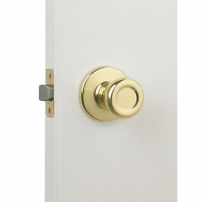 Kwikset 92001-280 Polished Brass Tylo Knob Passage Set