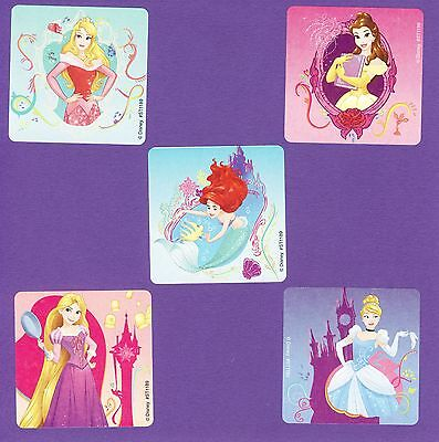 15 Disney Princess Enchanted - Large Stickers - Cinderella, Ariel, Rapunzel